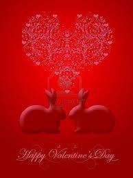 conigli a san valentino