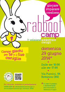 rabboot camp addestrare conigli ed.1