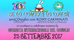 mini corso sul coniglio da compagnia a Roma, 23 settembre 2017