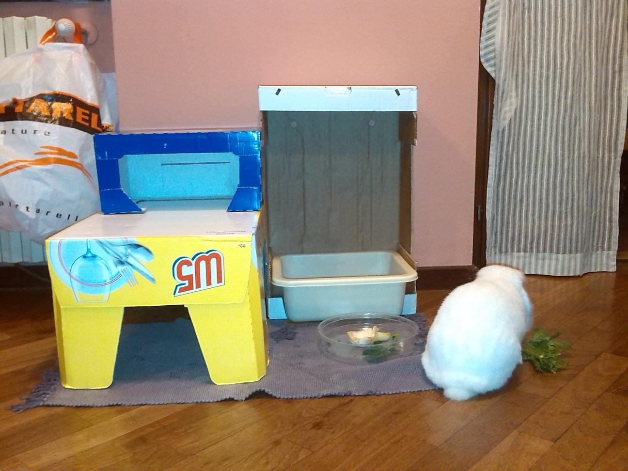 castello per conigli